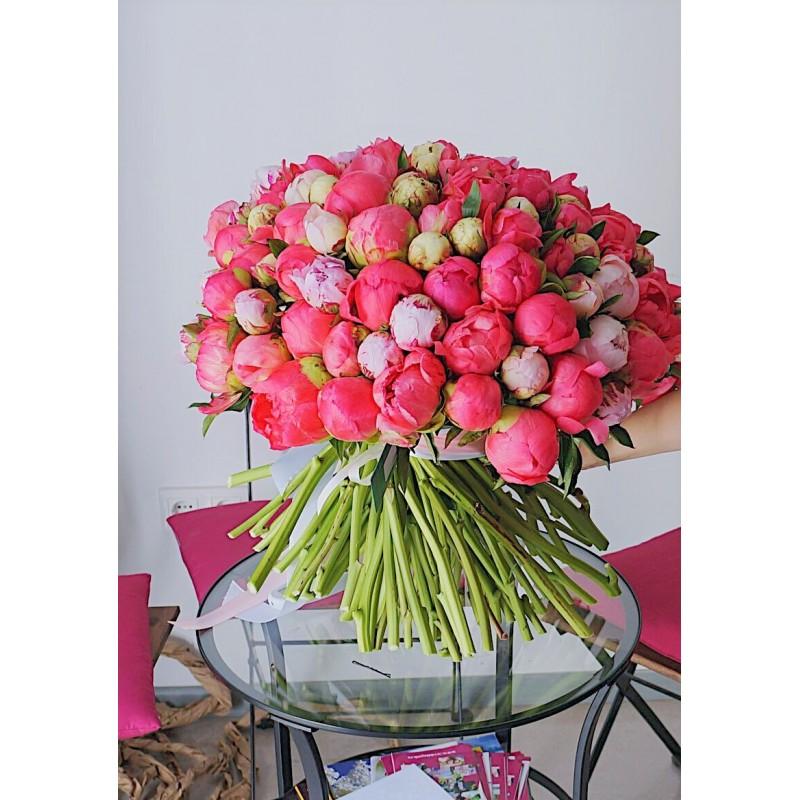 Охапка любимых цветов